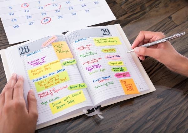 agenda publicitaire personnalisé