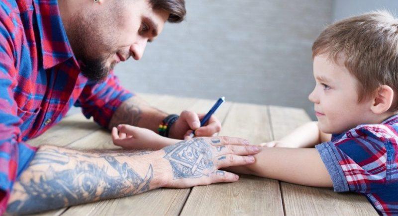 Faire un faux tatouage qui dure longtemps